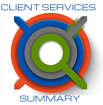 client services summary